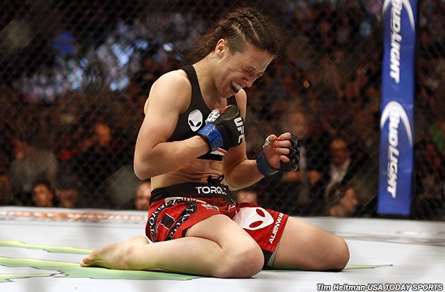 MMA: UFC 185-Esparza vs Jedrzejczyk